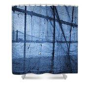 Behind The Veil - New York City Shower Curtain