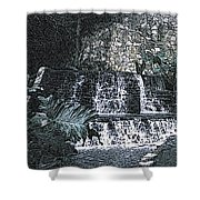 Behold The Waterfall Shower Curtain