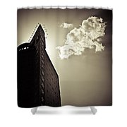 Beijing Cloud Shower Curtain