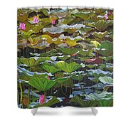 Beijing In August Shower Curtain