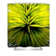 Being Green Shower Curtain