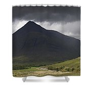 Beinn Dorain Panorama Shower Curtain