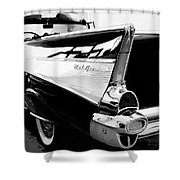 Bel Air Bw Palm Springs Shower Curtain