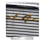 Belair Logo Shower Curtain