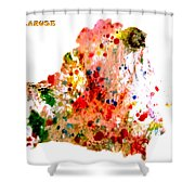 Belarus Shower Curtain