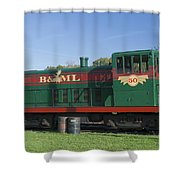 Belfast And Moosehead Lake Railroad Maine Img 6151 Shower Curtain