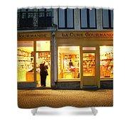 Belgische Chocola Shower Curtain