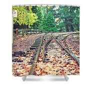 Belgrave Puffing Billy Railway Track Shower Curtain