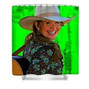Belinda Gail Shower Curtain