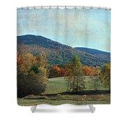 Belknap From Rogers Field Shower Curtain