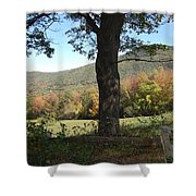 Belknap Mountain Shower Curtain