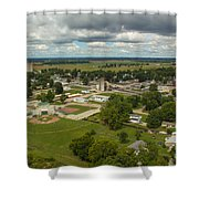 Bell Helicopter Shower Curtain