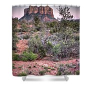 Bell Rock At Dusk Shower Curtain