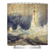 Bell Rock Lighthouse Shower Curtain