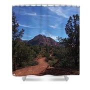 Bell Rock Trail Shower Curtain