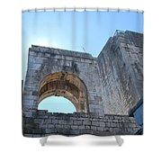 Bell Tower 1386 Shower Curtain
