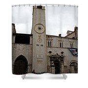 Bell Tower At Luza Square Shower Curtain