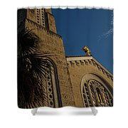 Bell Tower At St Sophia Shower Curtain