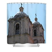 Bell Towers Shower Curtain