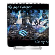 Bella And Edward - The Icy Kiss Shower Curtain