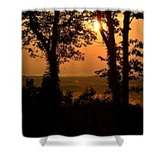 Bella Vista Sunset 2 Shower Curtain