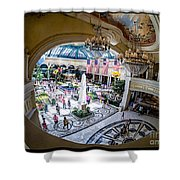 Bellagio Conservatory And Botanical Gardens Shower Curtain