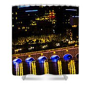 Bellagio Lagoon Walkway Shower Curtain