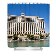 Bellagio Resort And Casino Panoramic Shower Curtain