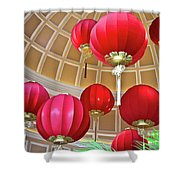 Bellagio Rotunda - Las Vegas Shower Curtain