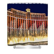 Bellagio Water Show Shower Curtain