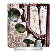 Bells In Sicily Shower Curtain