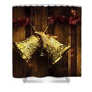 Bells Of Christmas Joy Shower Curtain