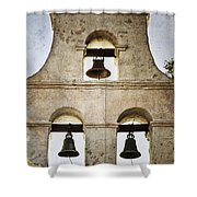 Bells Of Mission San Diego Shower Curtain