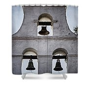 Bells Of Mission San Diego Too Shower Curtain