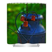 Bells Shower Curtain