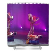 Bellucci Circus  Shower Curtain