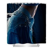 Belly Dance Color Shower Curtain