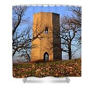 Beloit Historic Water Tower Shower Curtain