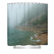Beloved Lakeshore Shower Curtain