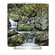 Below Mina Sauk Falls 1 Shower Curtain