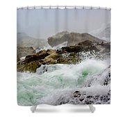 Below The Falls 1 Shower Curtain