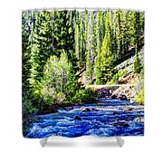 Belt Creek Shower Curtain