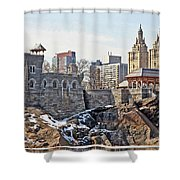 Belvedere Castle Shower Curtain