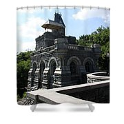 Belvedere Castle - Central Park Shower Curtain