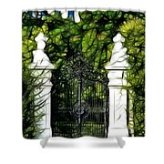 Belvedere Palace Gate Shower Curtain
