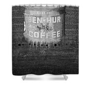 Ben Hur Coffee Shower Curtain