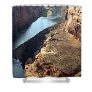 Bend In The Colorado River Shower Curtain