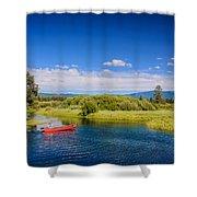 Bend Sunriver Thousand Trails Oregon Shower Curtain