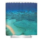 Beneath The Sea Great Barrier Reef Australia Shower Curtain