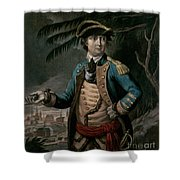 Benedict Arnold Shower Curtain